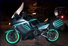 Reflective Tape Motorcycle